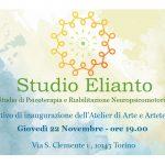 Inauguriamo l'Atelier di Arte e Arteterapia